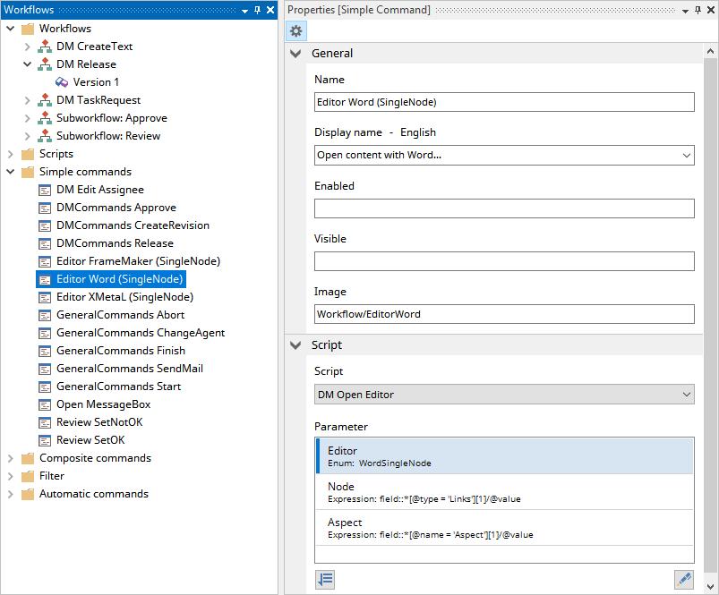 Workflow Automation Library in SCHEMA ST4