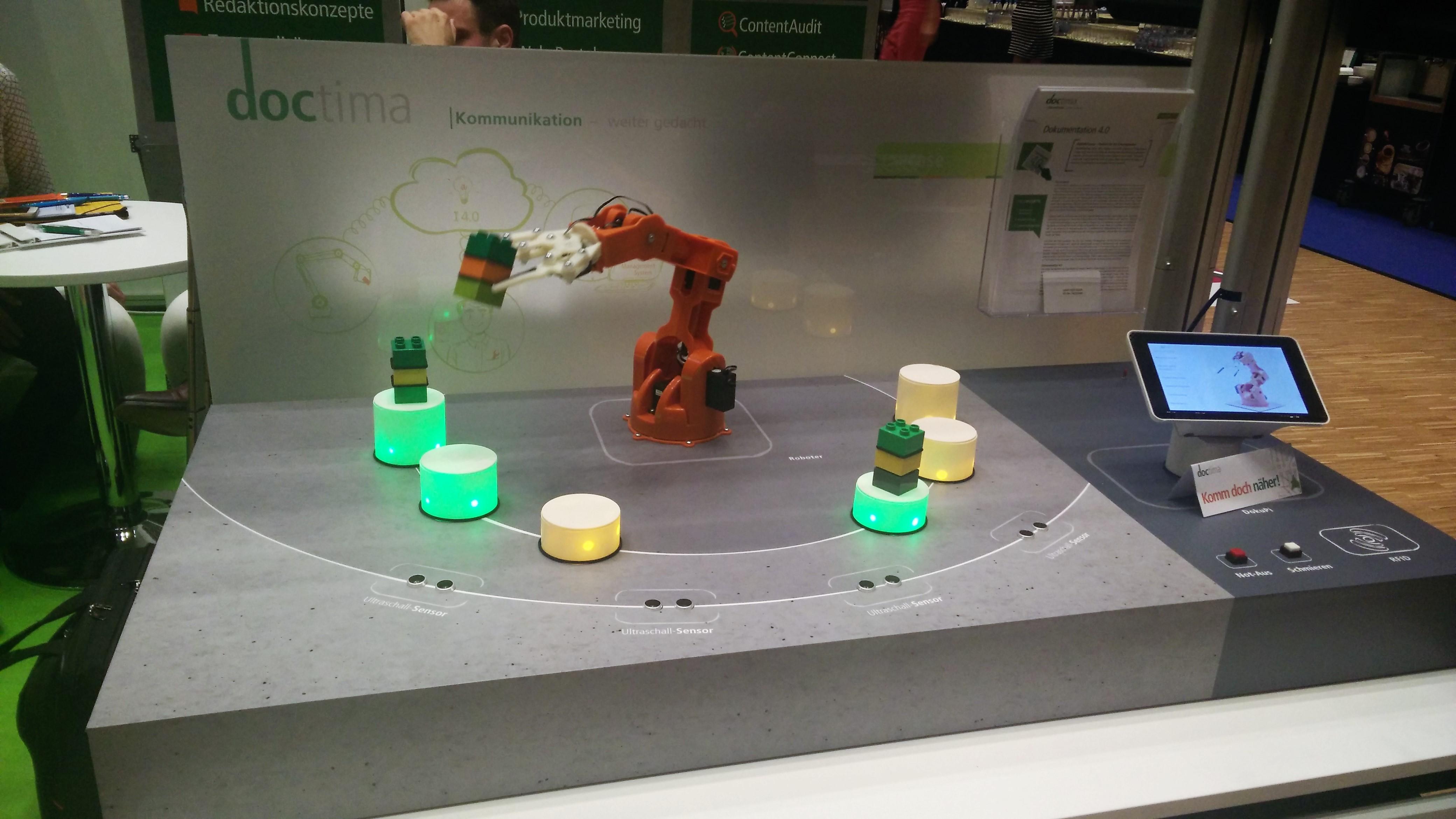 doctima-iiRDS-Roboter-Showcase