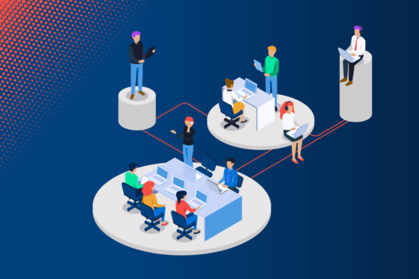 Teamarbeit im Unternehmen